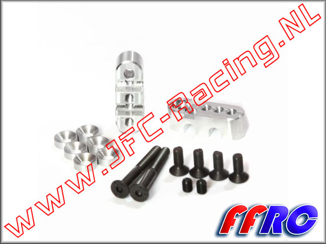 1001548, FullForce RC Adjustable Sway Bar Mounts (HPI Baja 5b / 5T / 5SC) 4pcs.