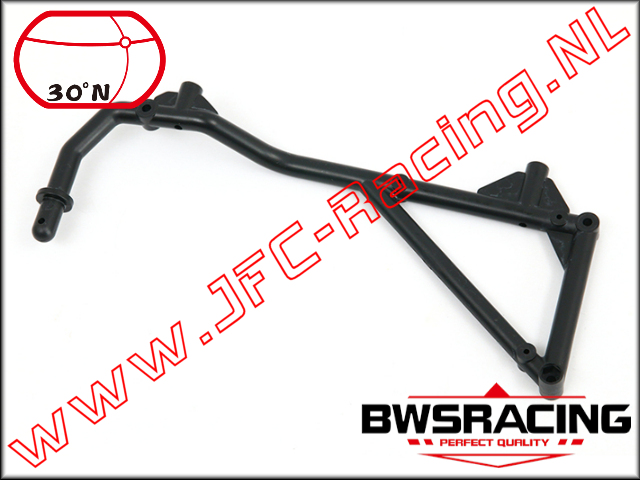 30N-51063, Roll cage Support Front (Left) 30º North 1pcs.