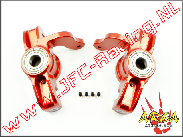 AR-L033-RED, Steering Hub (Losi 5ive-T & Mini WRC)(<FONT COLOR=ff0000>Red</FONT>)(Area Rc) 2st.
