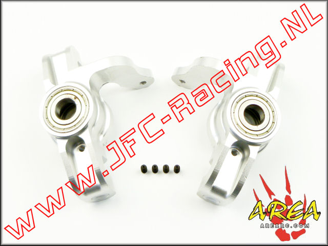 AR-L033-Silver, Steering Hub (Losi 5ive-T & Mini WRC)(<FONT COLOR=808080>Silver</FONT>)(Area Rc) 2st.