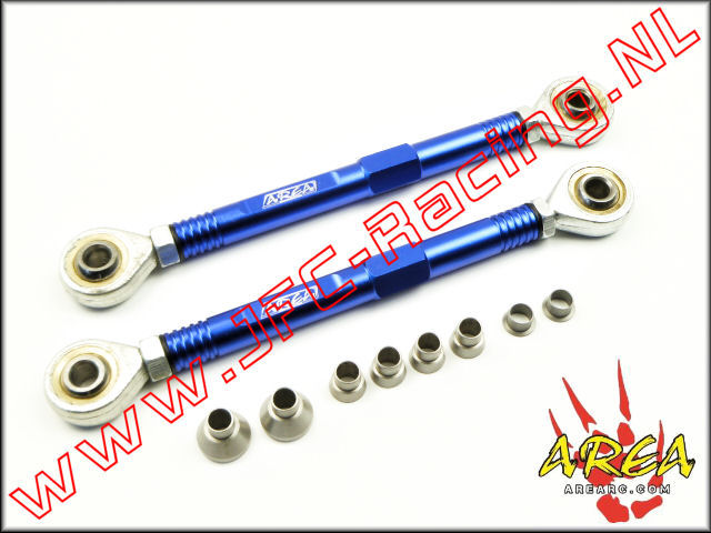 AR-L037-BLUE, Aluminum Pull Rod Rear (Losi 5ive-T / Losi 5ive-B / Mini WRC)(<FONT COLOR=0000ff>Blue</FONT>)(Area Rc) 1st