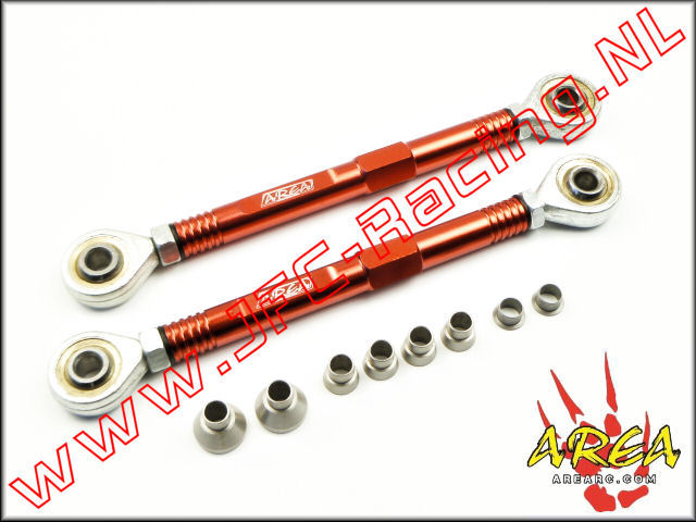 AR-L037-RED, Aluminum Pull Rod Rear (Losi 5ive-T / Losi 5ive-B / Mini WRC)(<FONT COLOR=ff0000>Red</FONT>)(Area Rc) 1st.