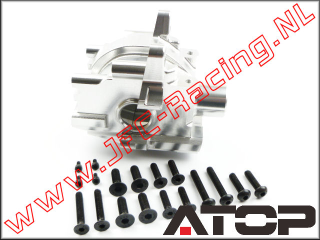 AT-5T015, ATOP Aluminum Front Alloy Diff (Losi 5ive-T / Losi 5ive-B / Mini WRC)(6061-T6 Alloy) 1pcs.