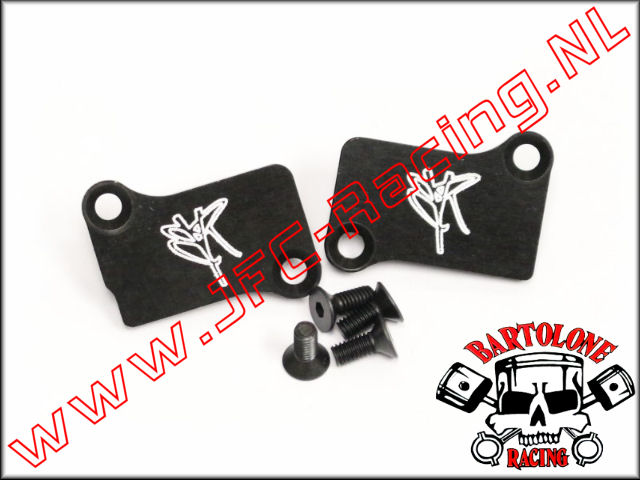 BTL 0293, Transfer Port Covers (Left / Right)(G320RC)(Bartolone Racing) 1set.