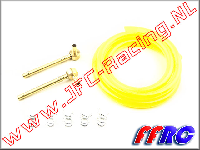 FFRC 5B004X, Full-Force RC V2 High Flow Fuel Line kit 1st.