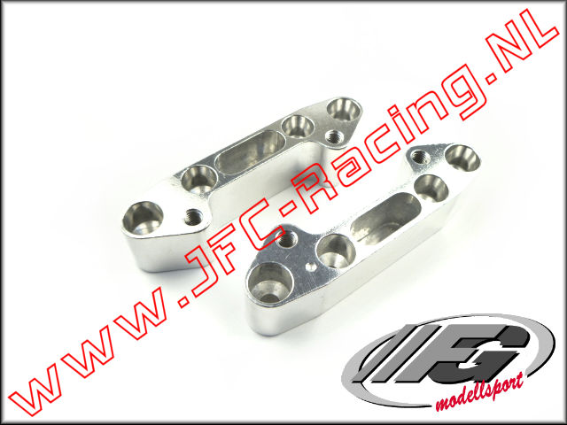 FG 4478/1, Quick change Rear axle (18mm High)(Truck)(Aluminum) 2pcs.