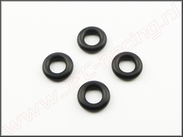 FG 4493/3, O-Ring Servo-Saver (Ø 6 x 3 mm) 4st.