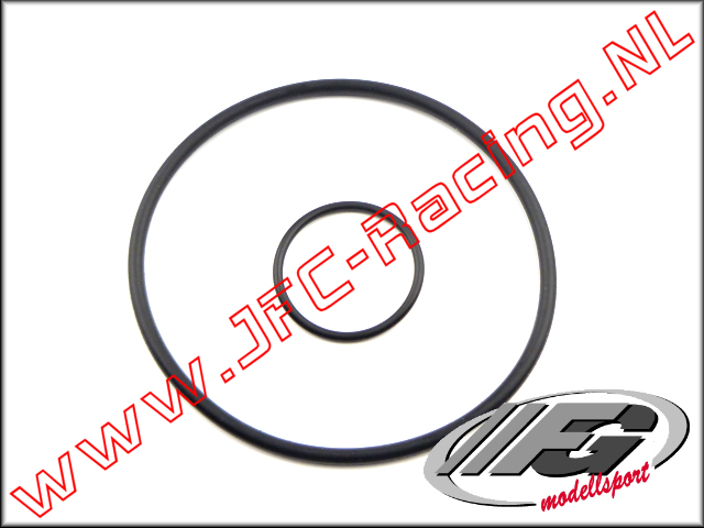 FG 6451/4, O-Ring Luchtfilter adapter (Ø 19 x 1,5mm & Ø 57 x 2,5mm) 2st.