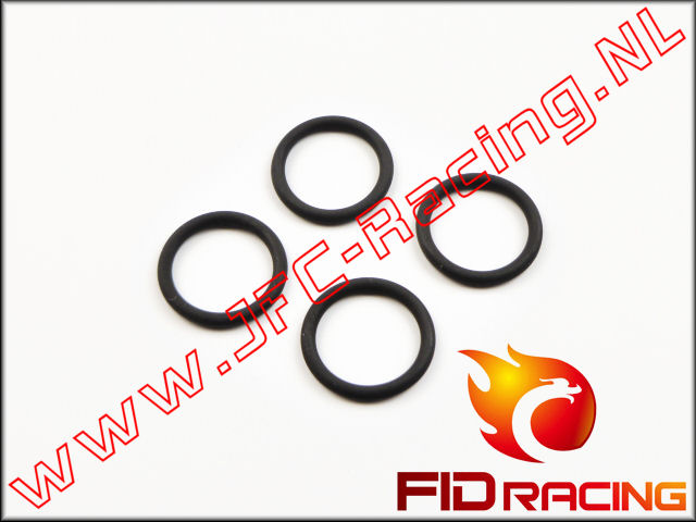 FID 078-01, FID Racing O-Ring (Viton)(Differential gear box with beaing)(LOSI 5ive / Mini WRC) 4st.