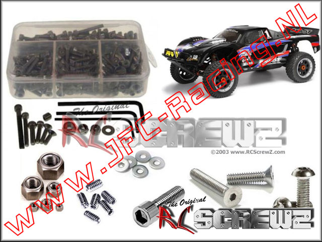 HPI 046, HPI Baja 5T/5SC Stainless Steel Screw kit (RC Screwz) 1pcs.