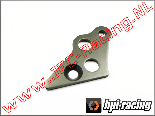 HPI 102163, Engine Mount Brace (Left)(<FONT COLOR=404040>Gun metal</FONT>) 1st.