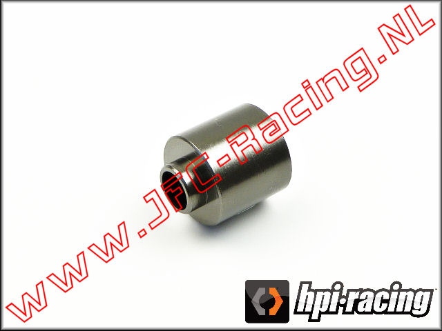 HPI 102166, Brake Spacer Nut (5 x 12 x 11mm)(<FONT COLOR=404040>Gun metal</FONT>) 1st.