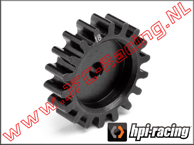 HPI 106607, Pinion Gear Thin (HD)(18 Tooth) 1pcs.