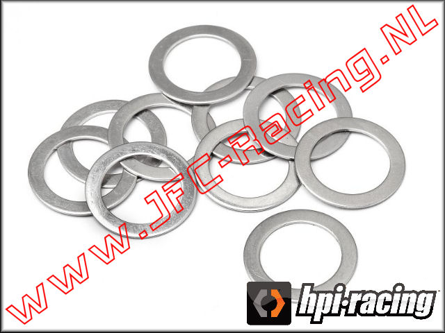 HPI 87584, Shim Washer (12 x 18 x 0.5mm) 10pcs.