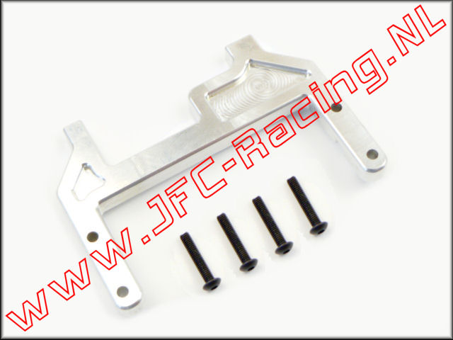 JFC 0395, Brake Bracket (Silver)(Losi 5ive)(RC Rock Armor) 1st.