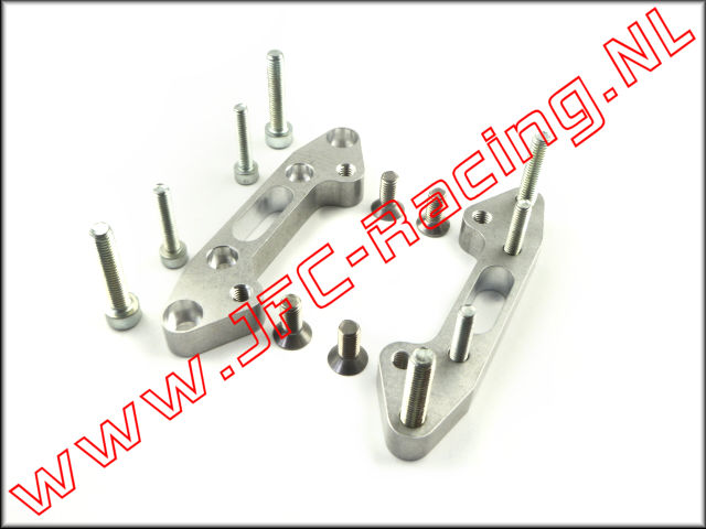 JFC 4478, Quick change Rear axle (9mm High)(Aluminum) 2pcs.
