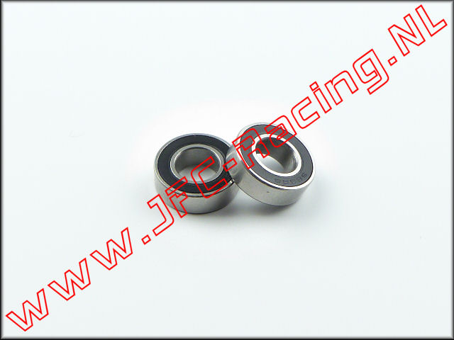 JFC 687-RS, Ball bearing (7 x 14 x 5 mm)(687-RS) 2pcs.