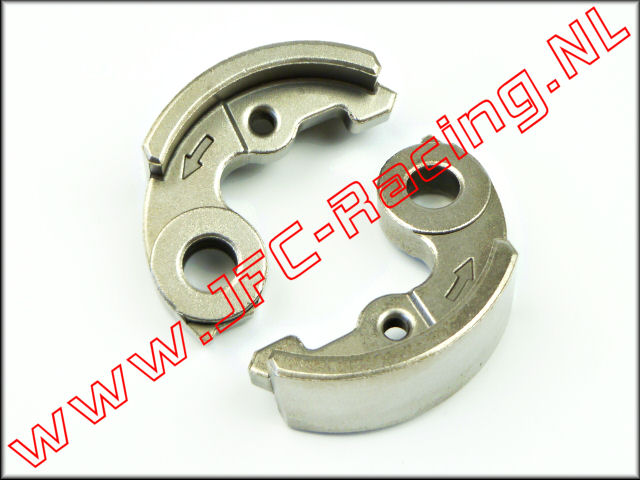 JFC 7316, Sinter Steel Tuning Clutch Shoes (53mm) 2pcs.