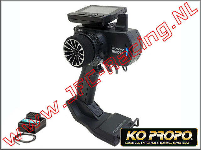 KO 80564, Ko Propo EX-2 Standard Edition (Alum Steering Wheel Black) Radio Set 1st.