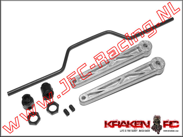 KV2236, VEKTA.5 Rear Sway Bar Kit w/ Torsion Levers 1set.