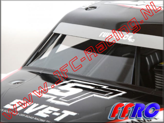 L5T006, FullForce RC Losi 5IVE-T Front 2/3 Windshield 1pcs,