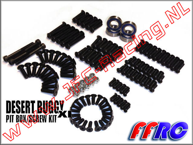 LDB013, FullForce RC Losi Desert Buggy XL (DBXL) Pit Box / Screw Kit 1pcs,