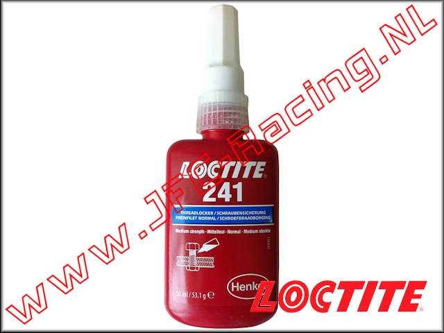 LOC-0241, Loctite 241 Threadlocker (Medium)(<FONT COLOR=0000ff>Blue</FONT>)(50ml) 1pcs.