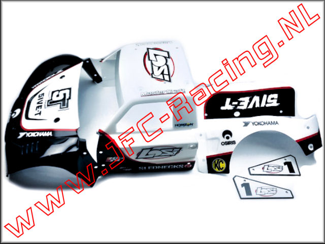 LOSB 8105 WHITE, Complete Body Set (White) 1st.