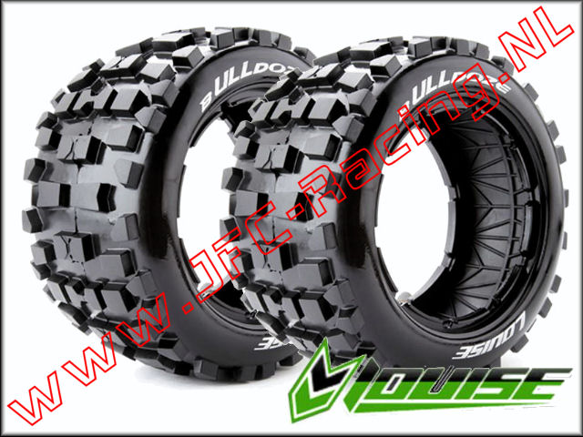 LR-T 32441, Louise RC B-ULLDOZE 1-5 Buggy Tires (Sport)(Rear)(170 x 80mm) 2st.