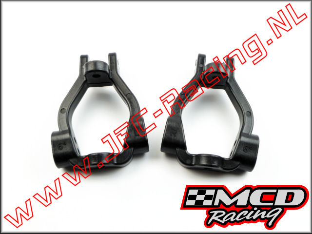 M300702P, L/R Caster Block Set 6 Deg. (Opt.) 1set.