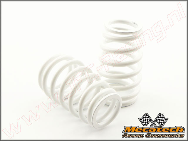 MEC 2009/07, Mecatech Klick Shock Spring (2,9 mm)(White) 2st.
