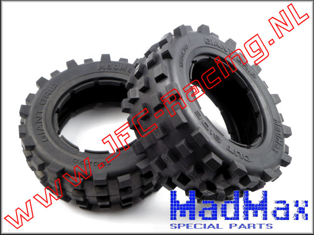 MM 1191, Madmax Giant-Grip Tire (190 x 70mm)(MadMax) 2st.