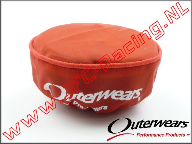 OUT 0322, Outerwears Pre-Filter Lucht Filter (Losi 5ive-T/ KrakenRC)(<FONT COLOR=ff0000>Red</FONT>) 1st. <BR>