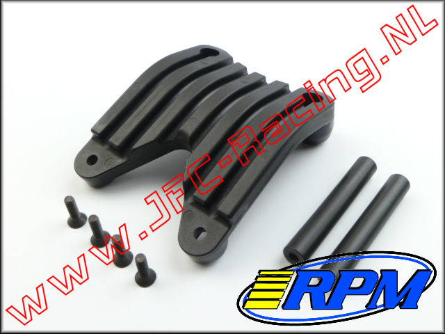RPM 81992, Rear Skid Plate (Black)(HPI Baja 5B & 5T) 1st.