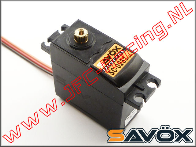 SC-0251MG, Savox servo SC-0251MG (Digitale Coreless servo 16kg) 1st.