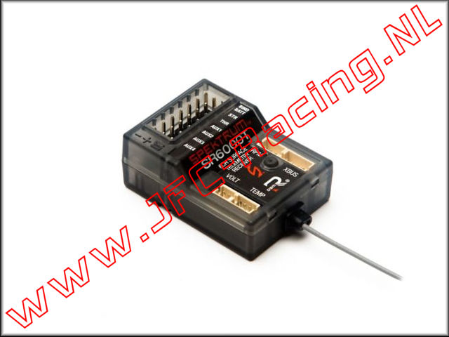 SPMSR6000T, 6-Channel DSMR Slim Receiver with Telemetry (SR6000T) 1pcs.