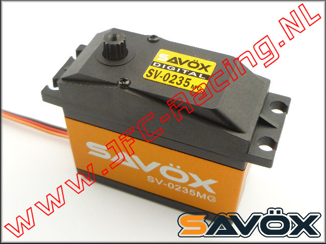 SV-0235MG, Servo Savox SV-0235MG Digital High Voltage (35kg-0,15s @ 7,4V)(15T) 1st.