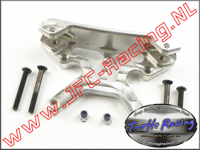 TUR 0007-SI, HD Front Shock Tower/Mount (HPI Baja 5B)(<FONT COLOR=808080>Silver</FONT>)(Turtle Racing) 1st.
