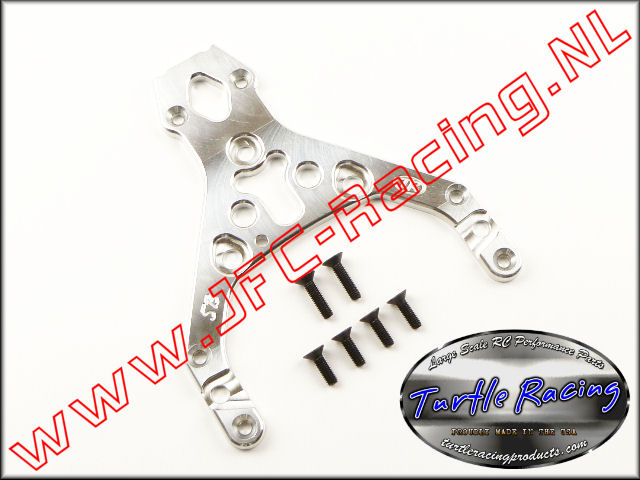TUR 0009-SI, HD Top Plate (HPI Baja 5B)(<FONT COLOR=808080>Silver</FONT>)(Turtle Racing) 1st.