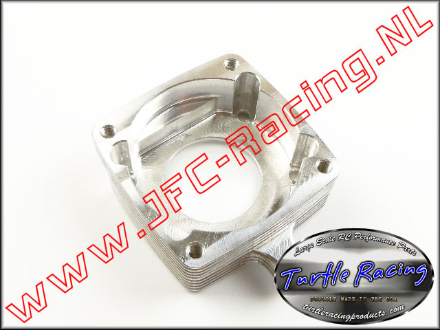 TUR 0029-SI, Clutch Housing G320RC (HPI 5B / 5SC)(<FONT COLOR=808080>Silver</FONT>)(Turtle Racing) 1st.