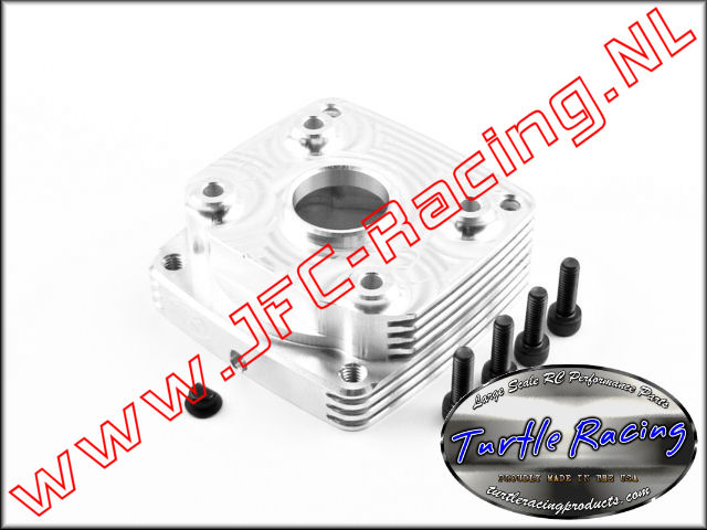 TUR L0004-SI, HD Clutch Case (Losi 5ive, FG, MCD, Redcat)(<FONT COLOR=808080>Silver</FONT>)(Turtle Racing) 1st.