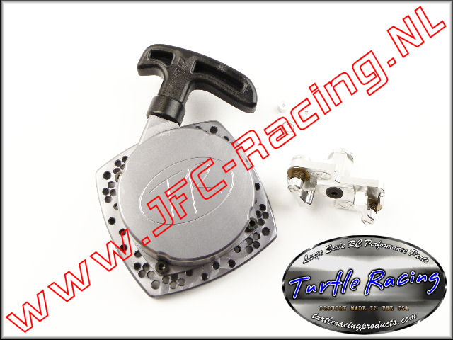 TUR V026-GM, V2 HD Racing Trekstarter (Logo)(<FONT COLOR=404040>Gun metal</FONT>)(Turtle Racing) 1st.