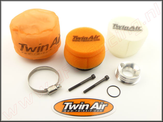 TWA 158879SET, Twin Air Dual Stage Luchtfilter systeem (Ø75 x 40mm) 1set.