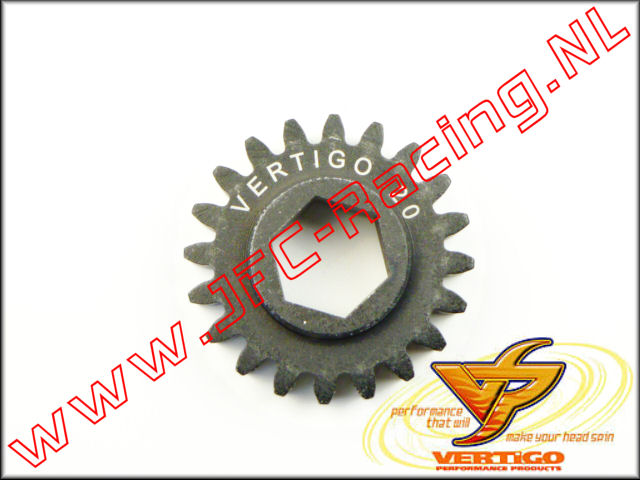 VTG 101120, Vertigo 20T Steel Pinion gear (12mm Hex Drive Clutch Bell) 1st.