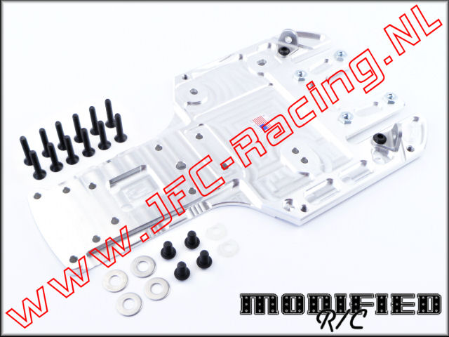 MDF 0667, Rear Chassis Skid Plate (Hpi 5B)(Modified RC) 1st.