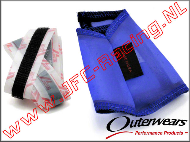 OUT 0163, Outerwears Carter / Vliegwiel  Hoes (<FONT COLOR=0000ff>Blauw</FONT>) 1st.